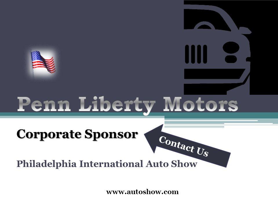 Corporate Sponsor Philadelphia International Auto Show Contact Us - Philadelphia international car show