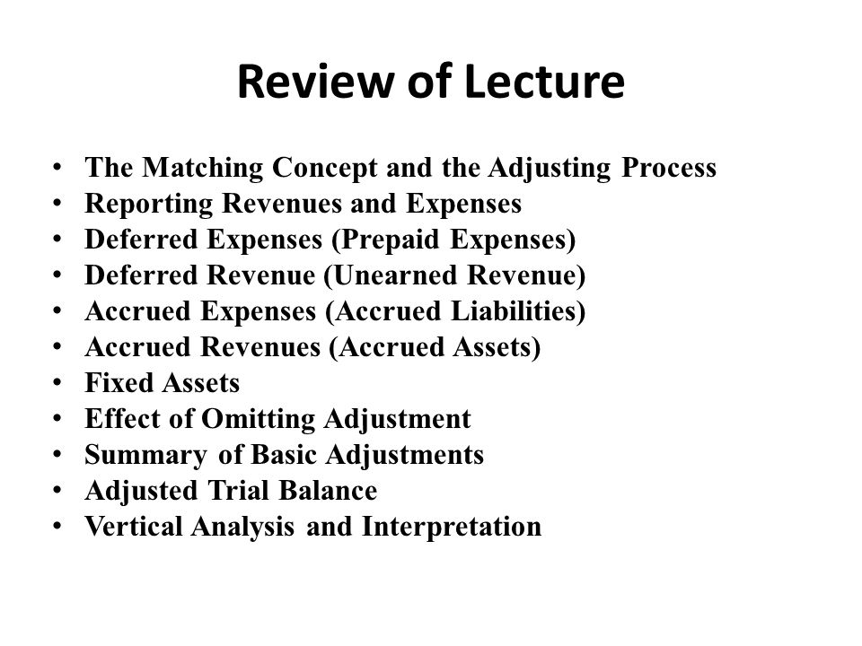 Lecture 09 Chapter 04 Completing the Accounting Cycle Task