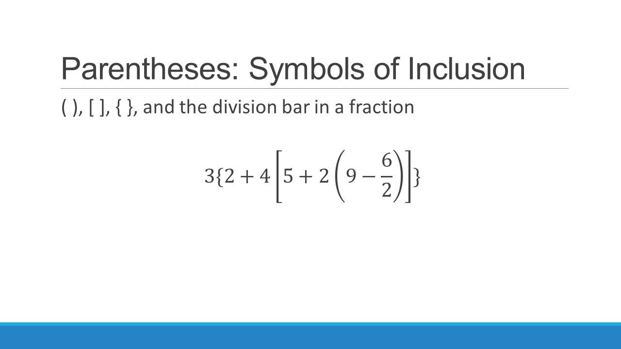 Order Of Operations Lesson 52power Up Kpage 369 Order Of Operations