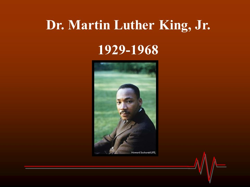 Dr Martin Luther King Jr Michael Luther King Jr Was Born On