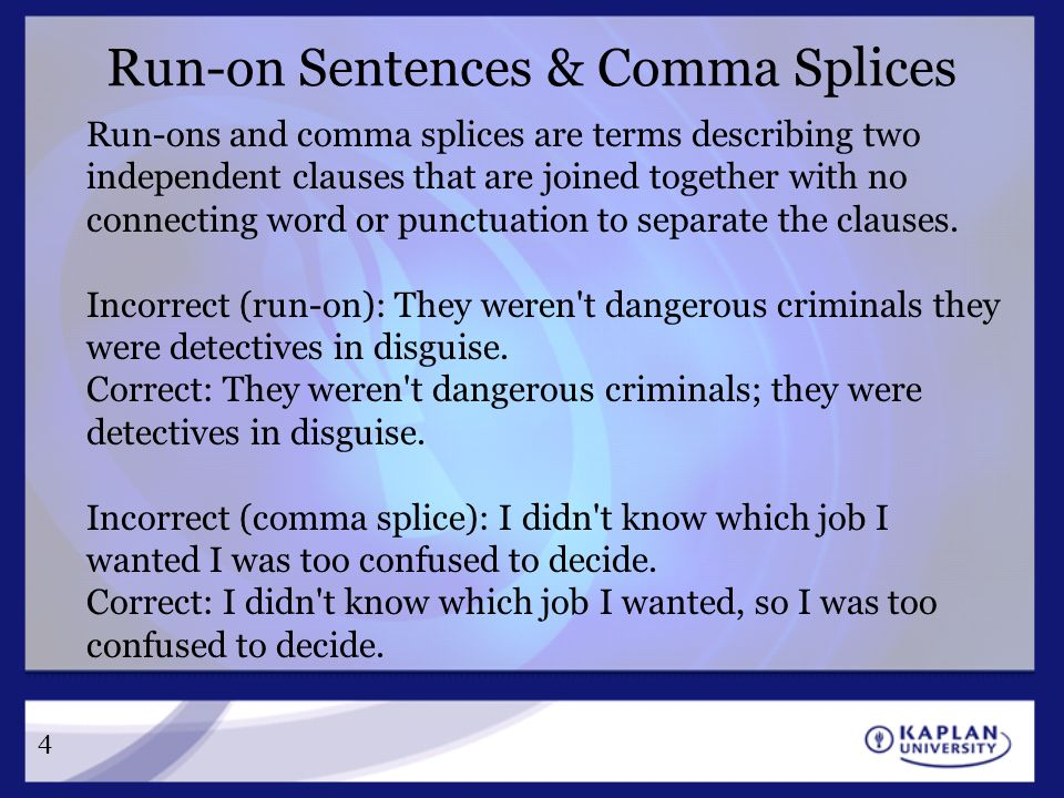 Comma Splices And Run Ons Worksheet Livinghealthybulletin