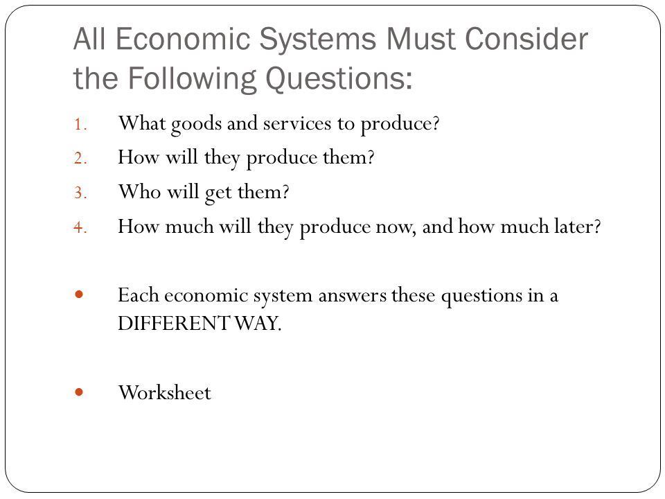 Introduction to Economics Johnstown High School Mr. Cox Markets and ...