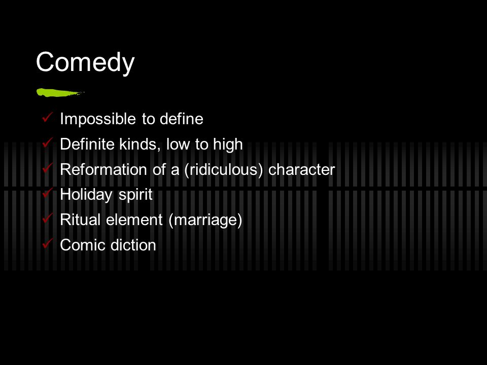 plato comedy offers malicious enjoyment through the spectacle of