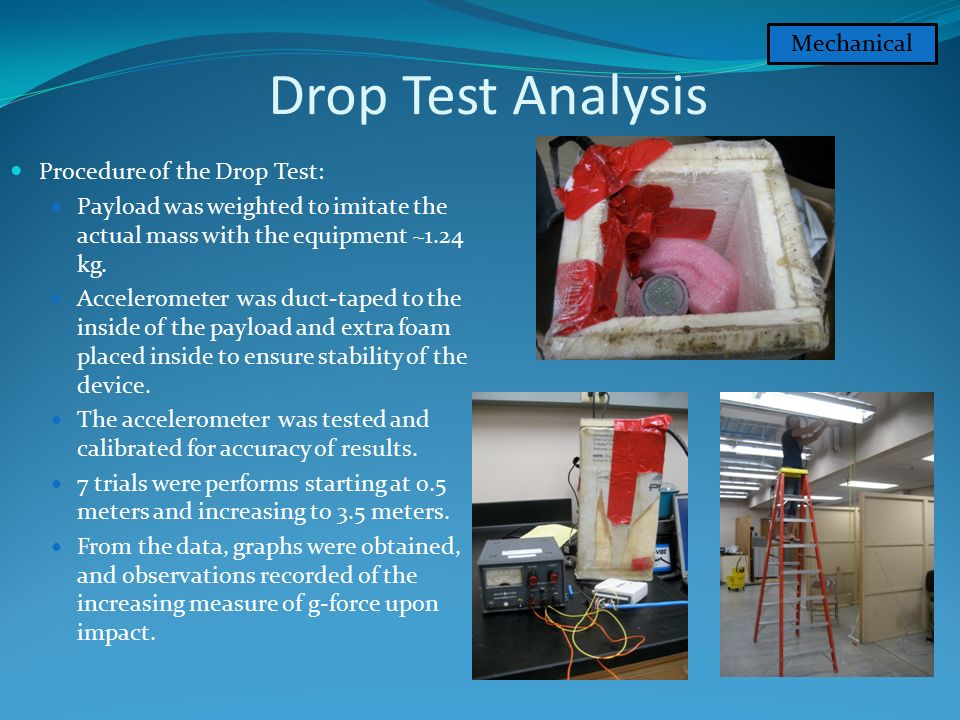 """Critical Design Review  Mission Objective """"To collect data from a"""