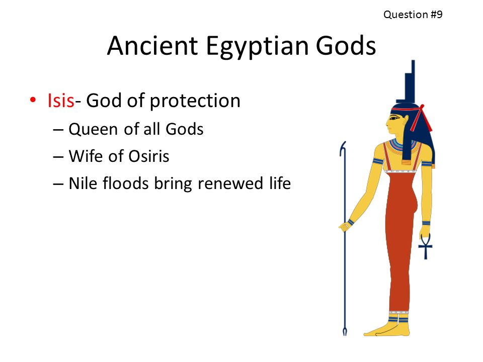 Egyptian Religion  Group 1 What river did Ancient Egypt