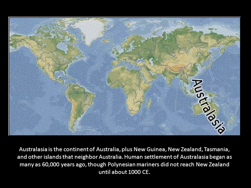 Map Of Australia 60000 Years Ago.Geographic Literacy 1 Iberia Is The Section On The Map Labeled A