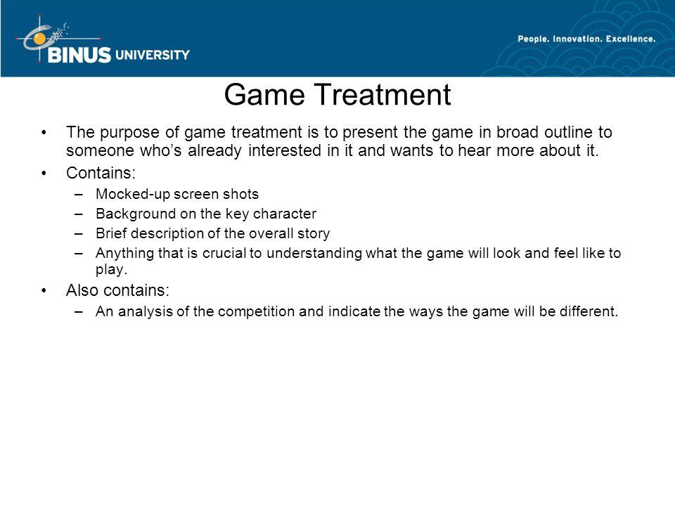 Game Design Document Pertemuan Matakuliah TGame Design And - Game design brief