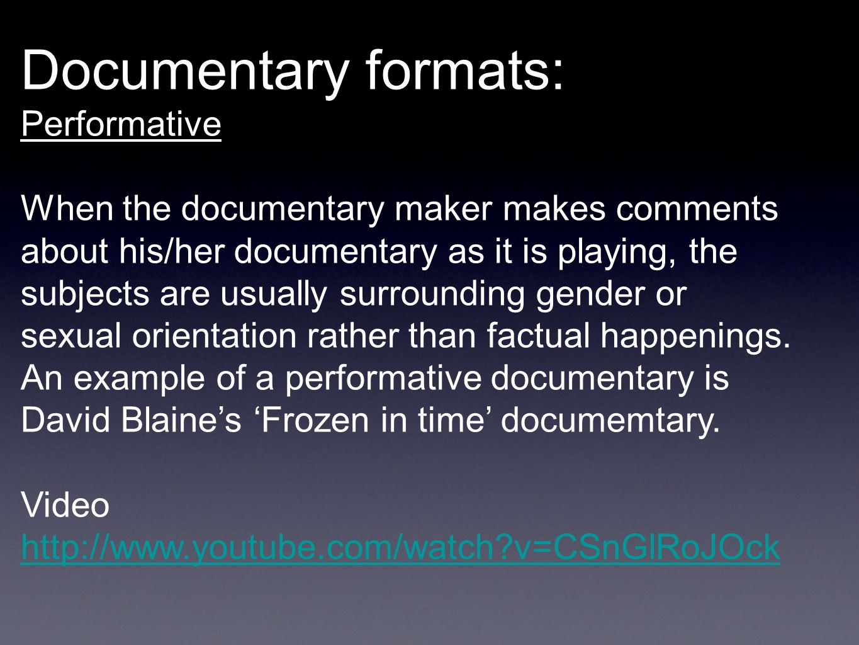 10 Documentary ...