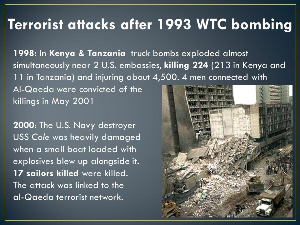September 11, 2001 Where were you?  The terrorist attacks