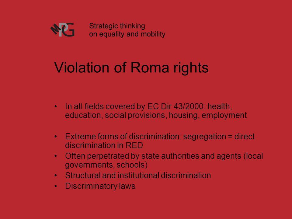 direct discrimination in schools