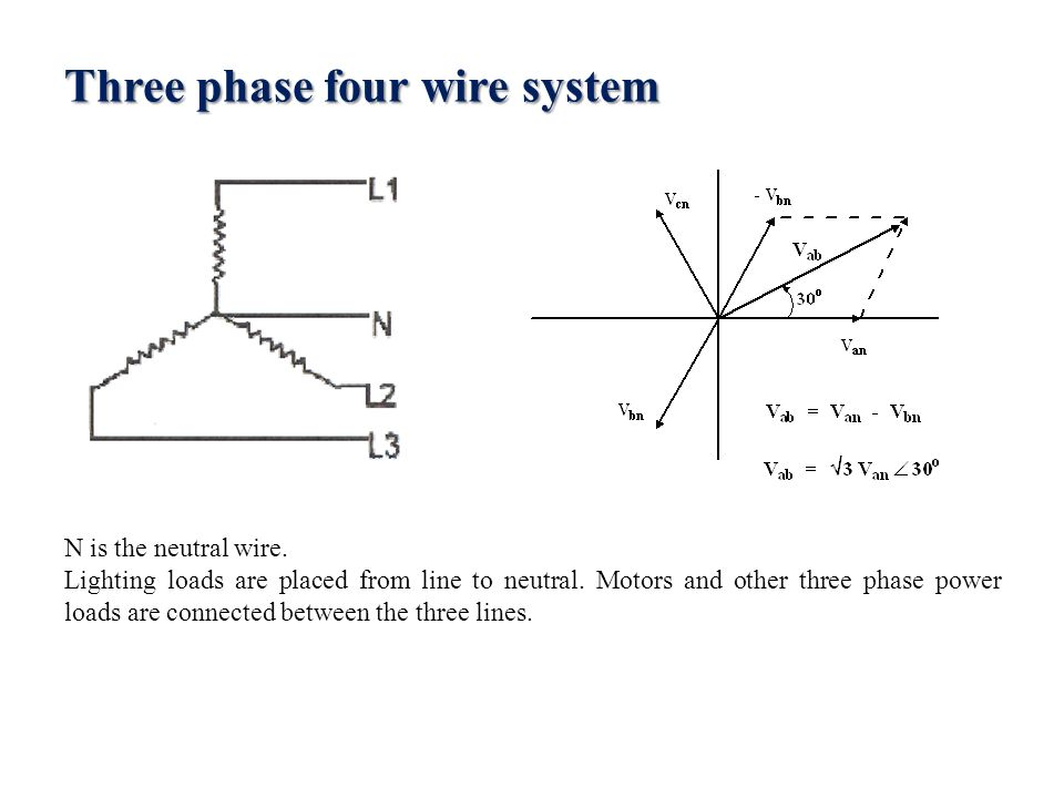Balanced poly phase circuits. Two and four phase systems  A two ...