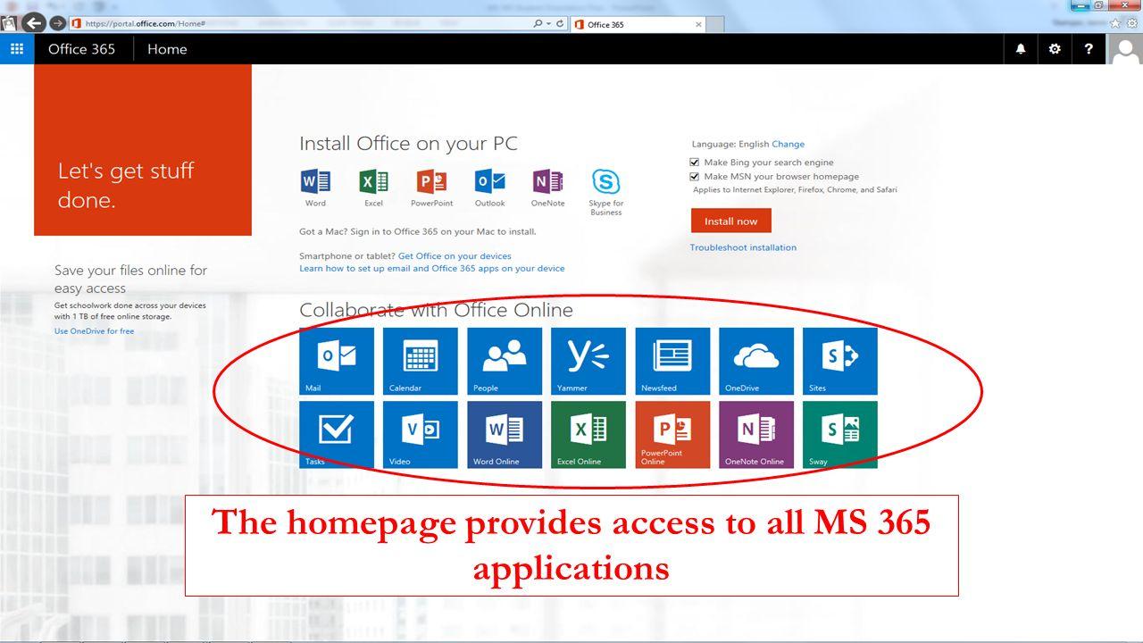 office 365 home login