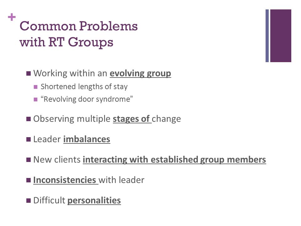 Group Dynamics in Recreational Therapy Created by: Heather R