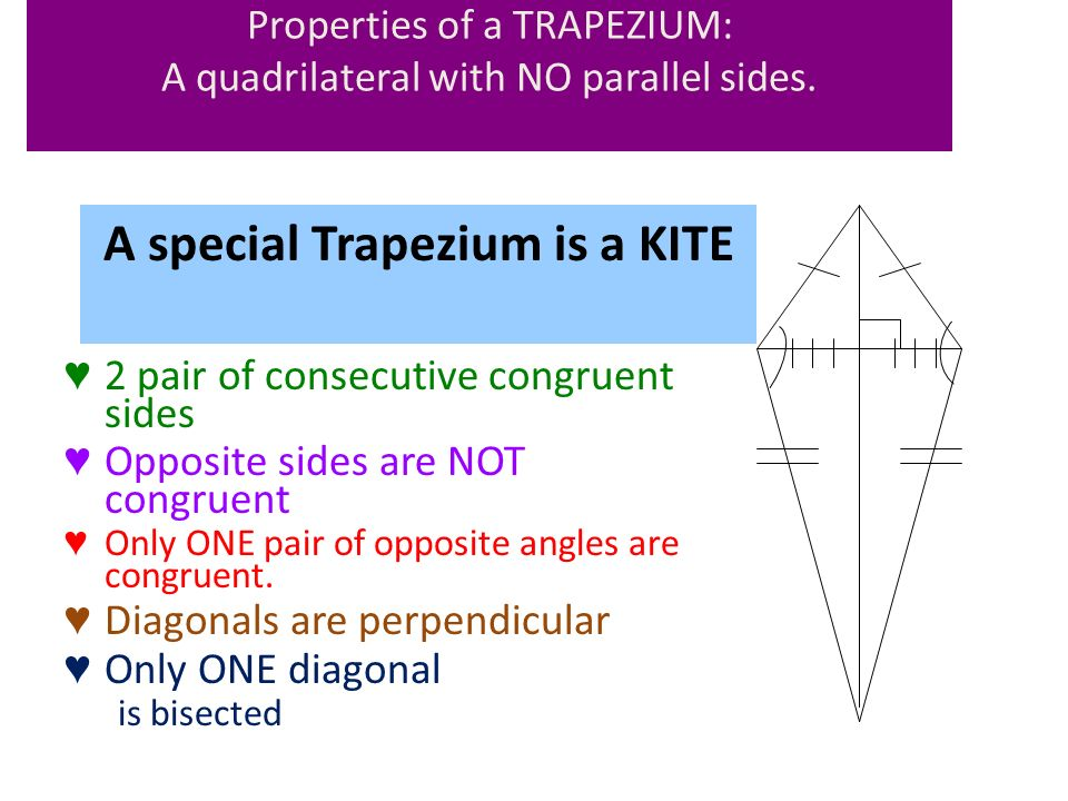 Warm Up Lets Grade Your Homework Quiz Quadrilaterals Day 4 Kite