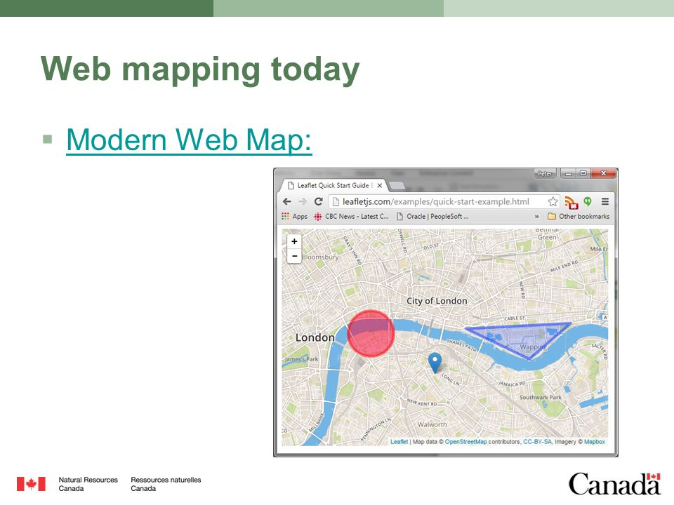 Maps For HTML Extending the Web with Maps  Introduction