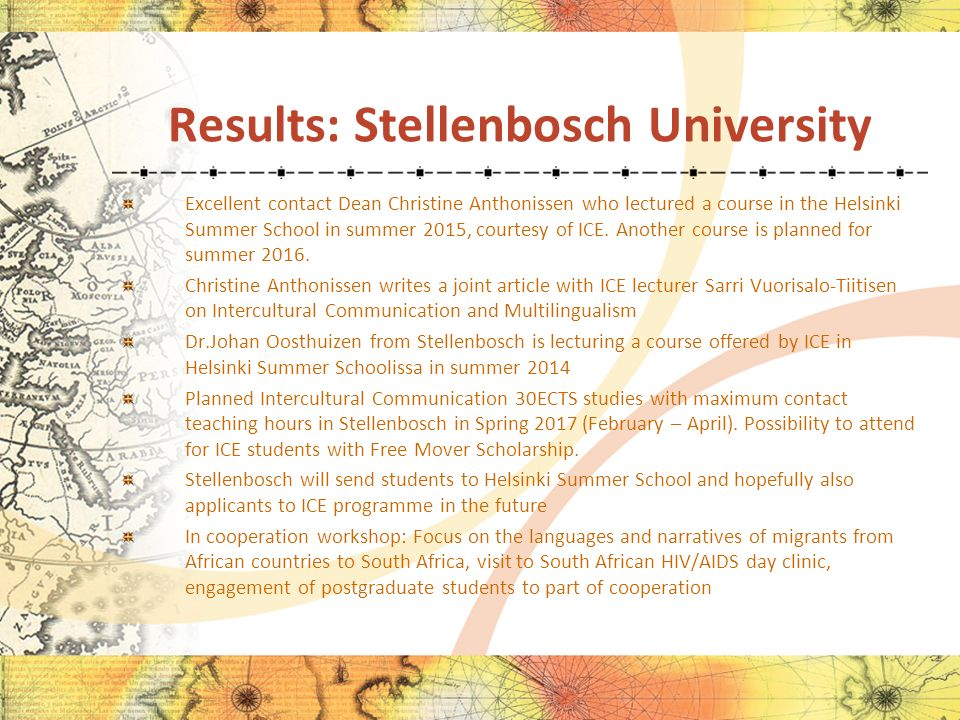 MASTER´S DEGREE PROGRAMME IN INTERCULTURAL ENCOUNTERS