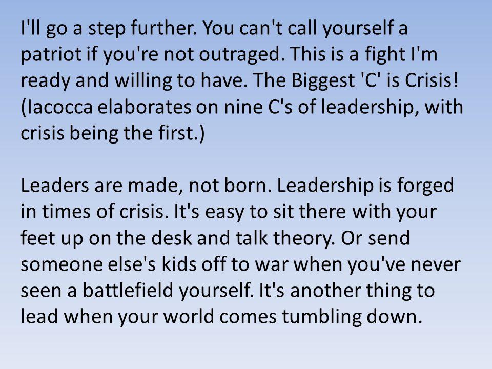 nine cs of leadership