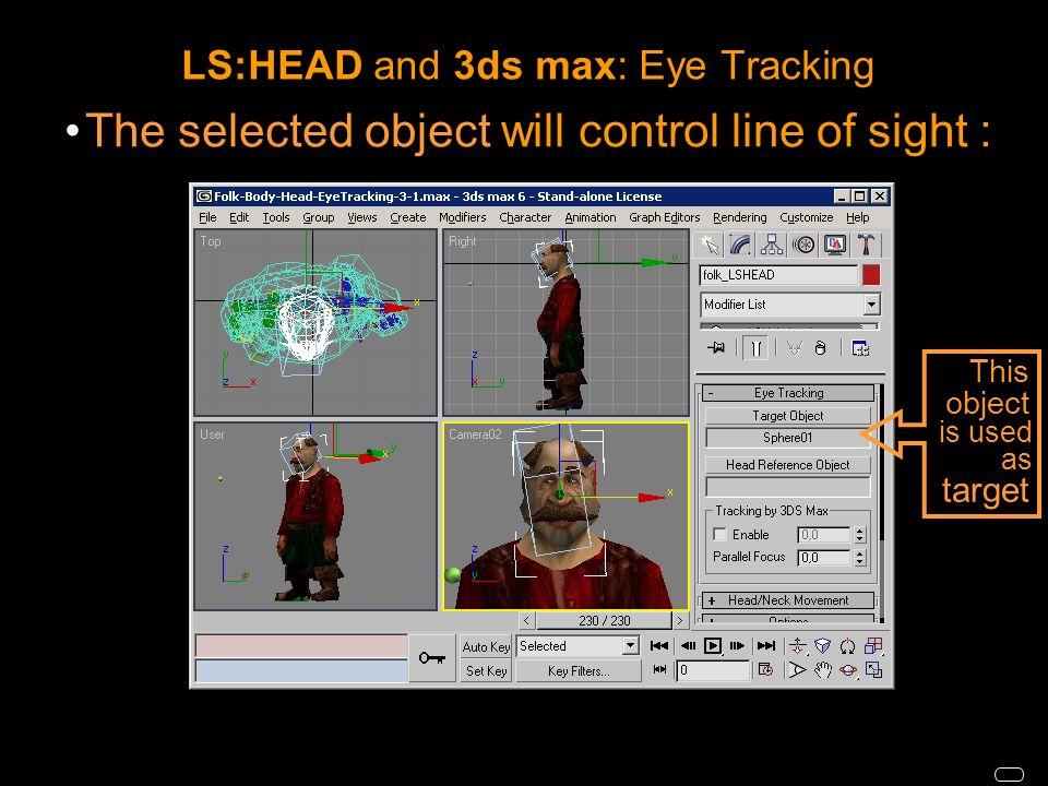 LIFESTUDIO:HEAD® Import-Export Plug-In for 3ds max  - ppt