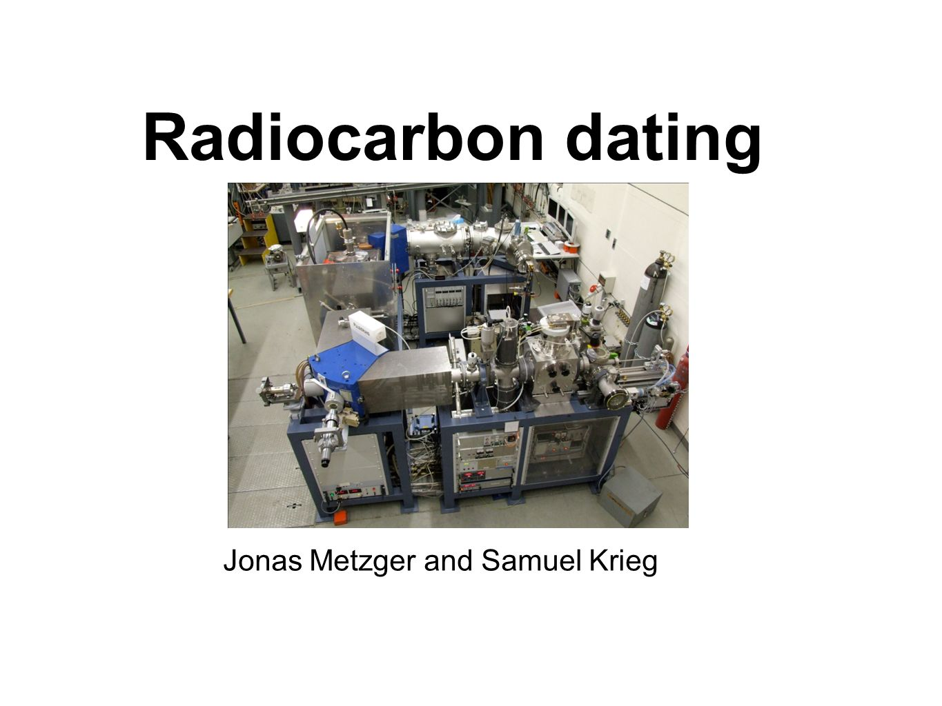 carbon dating machines