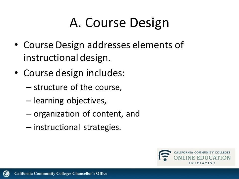 Common Course Design Issues Dolores Davison Asccc Michelle Pilati