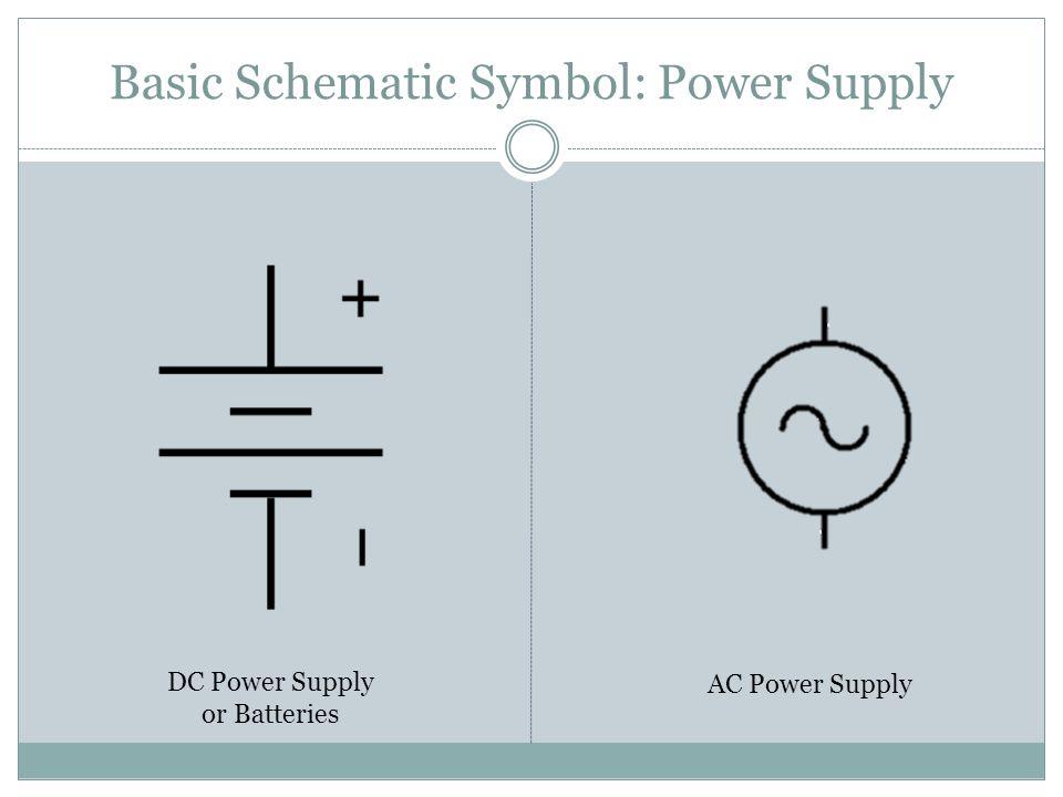 Dc Power Supply Circuit Diagram Symbol - Engine Mechanical ... on