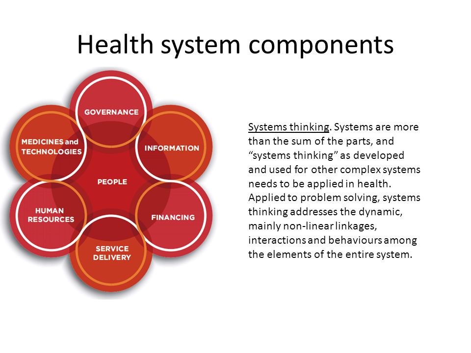 6 Health System Components