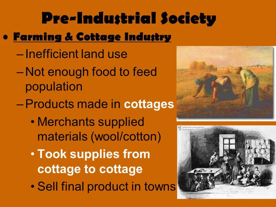 pre industrial society
