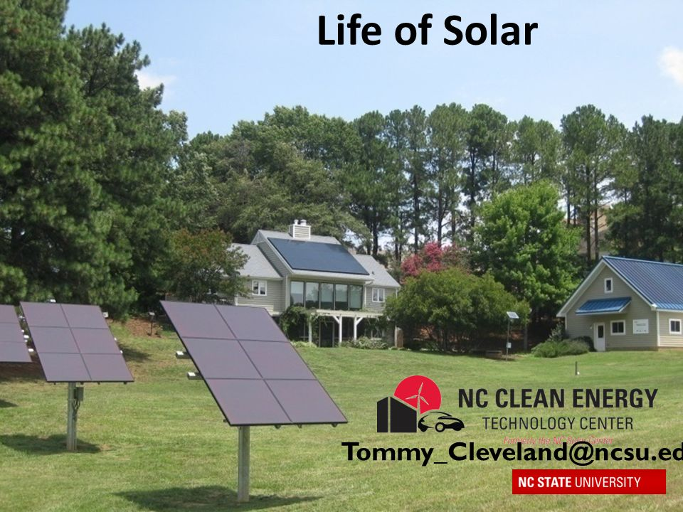 Life of Solar Created in 1988 as a resource for renewable