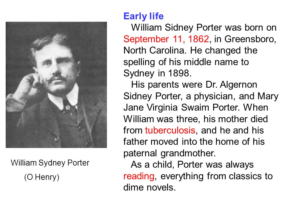 After Twenty Years O Henry O Henry Was A Prolific