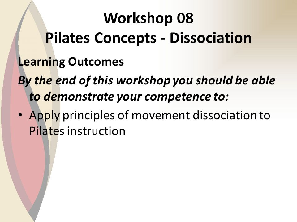 Beginner Mat Module Balance & Control Pilates Instructor Training