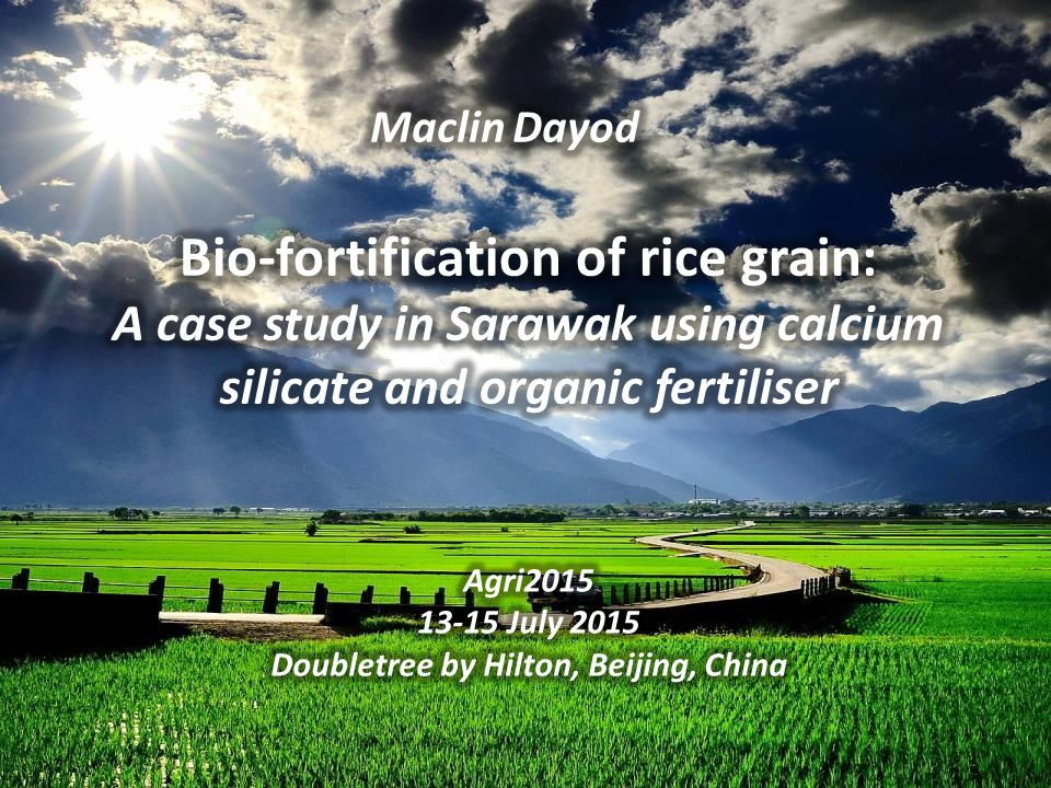 Interesting and Fun Facts on Rice  A typical greeting in