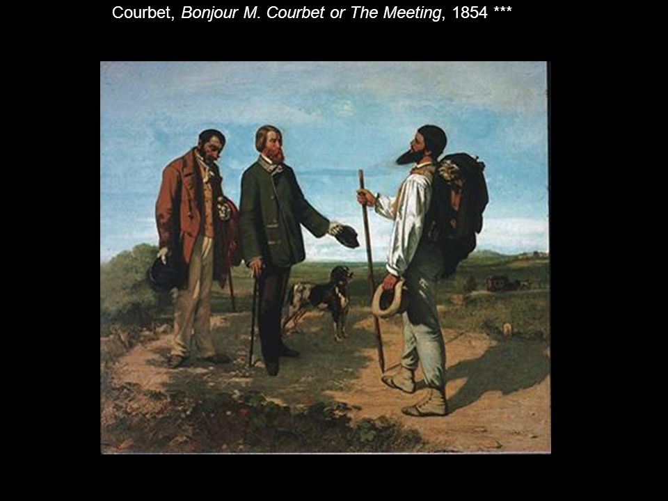 the meeting courbet