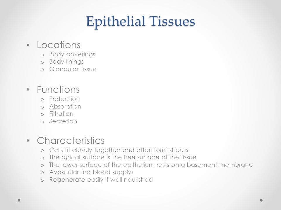 Cells and Tissues Tissue Types. Body Tissues Tissues are groups of ...