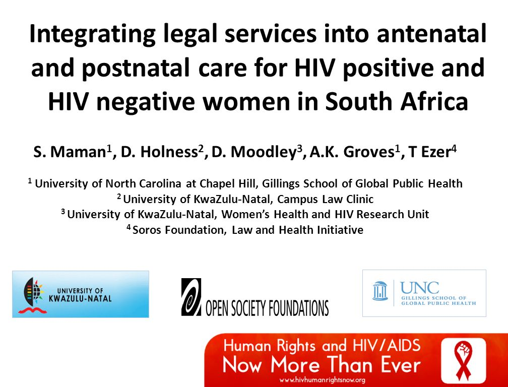 Integration of sexual and reproductive health services in kwazulu-natal south africa