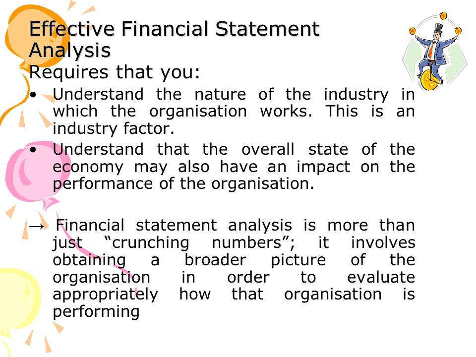 Effective Financial Statement Analysis