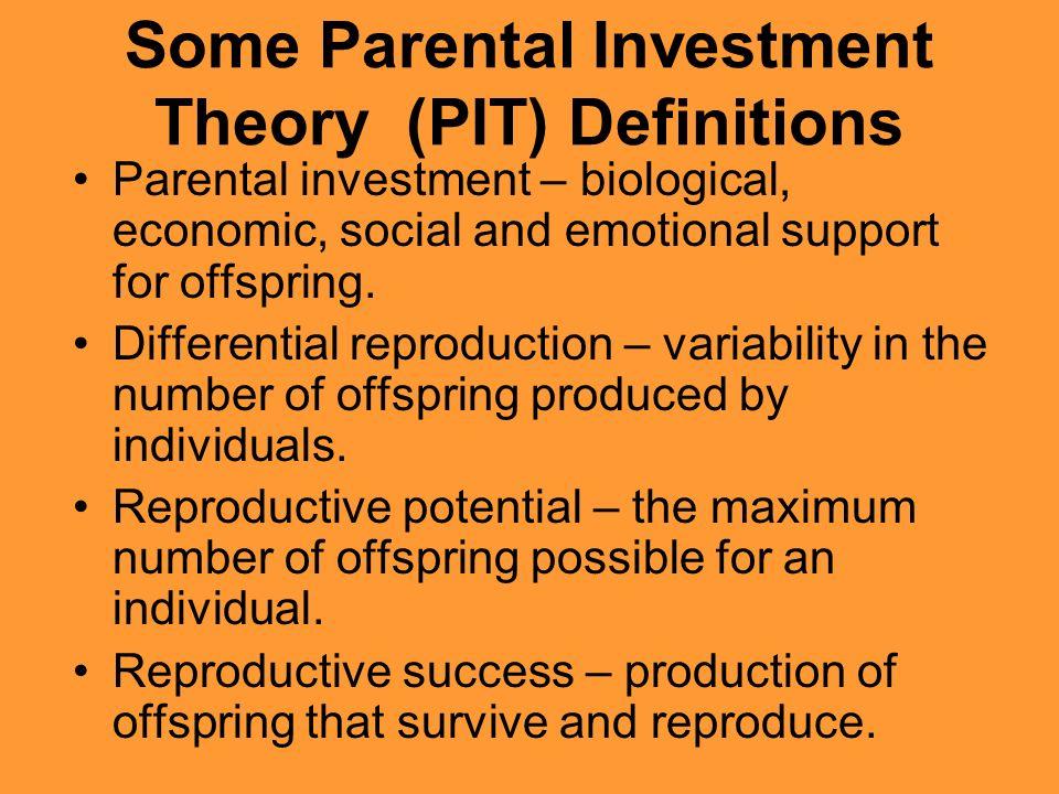 Η θεωρία γονικής επένδυσης κατά την Sarah Blaffer Hdry