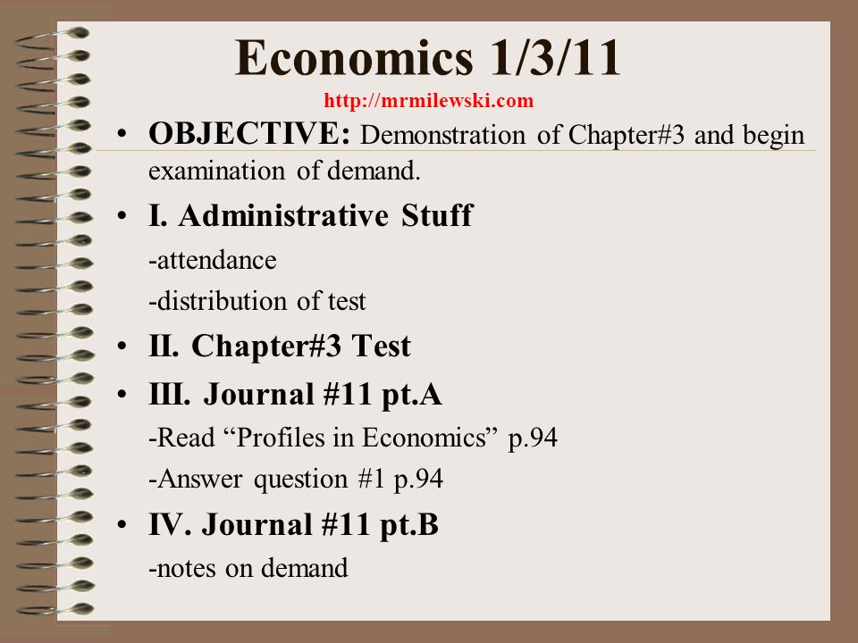 Economics 1311 Objective Demonstration Of Chapter3 And Begin. I Administrative Stuff Attendance Distribution Of Test Ii Chapter3 Iii Journal 11 Pta Read Profiles In Economics P94 Answer. Worksheet. Chapter 3 Business Organizations Worksheet Answers At Clickcart.co