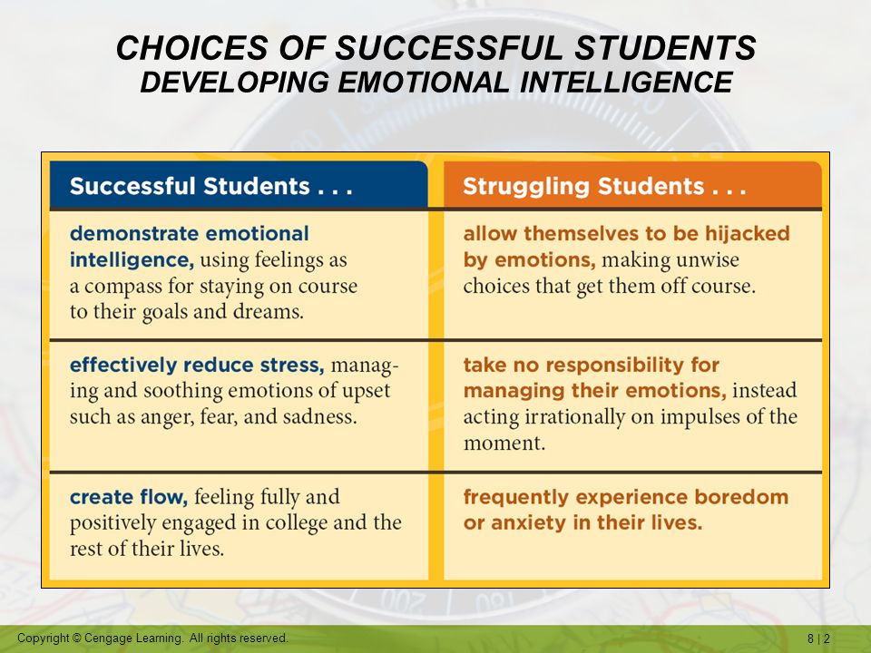 Strategies for Creating Success in College and in Life On