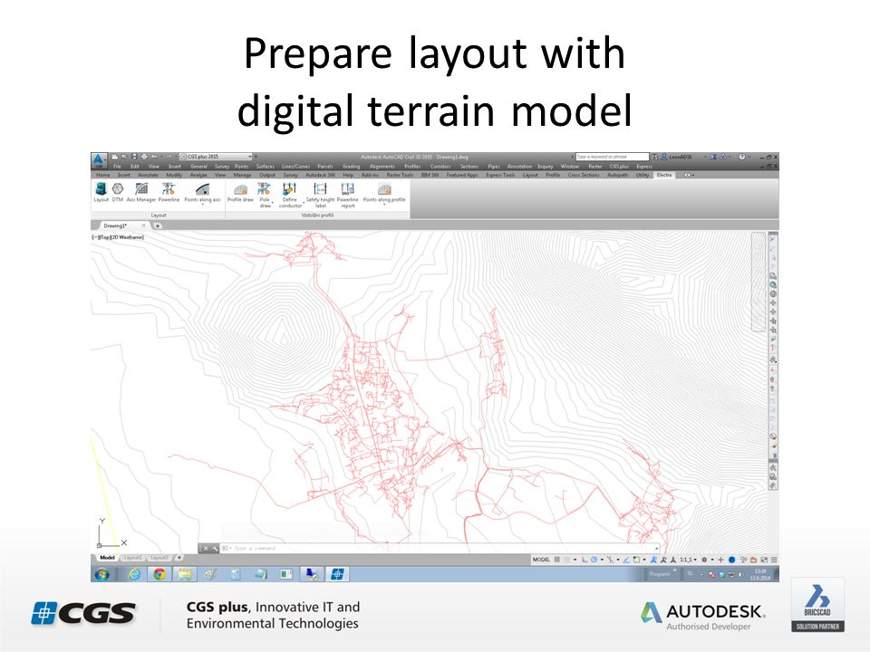 Electra 2015 Overhead power line design tool Create digital