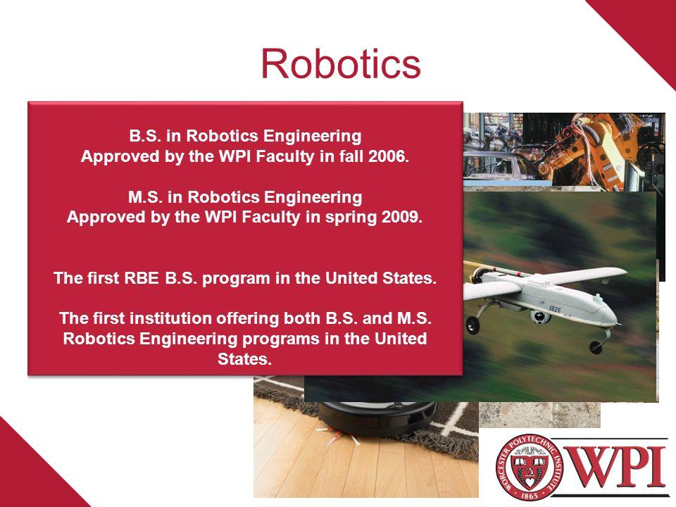 The M S Degree In Robotics Engineering A Multidisciplinary Degree