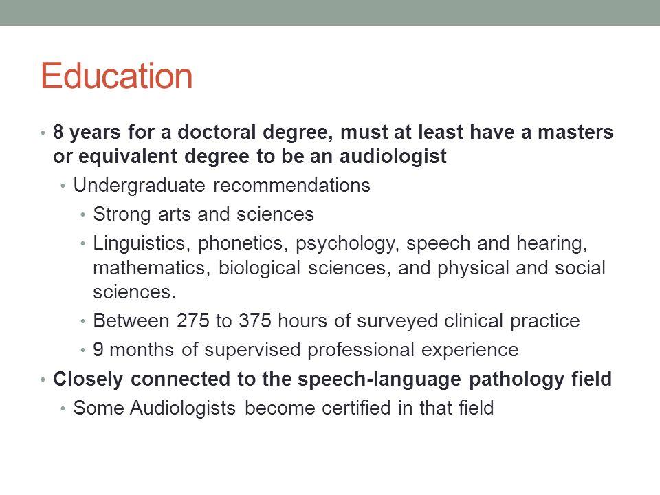 Audiologyaudiologists By John Kromenaker Job Descriptiontraits