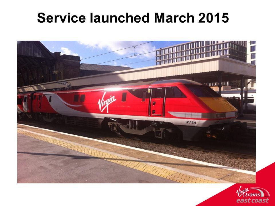 Welcome to Virgin Trains East Coast  A strong track record