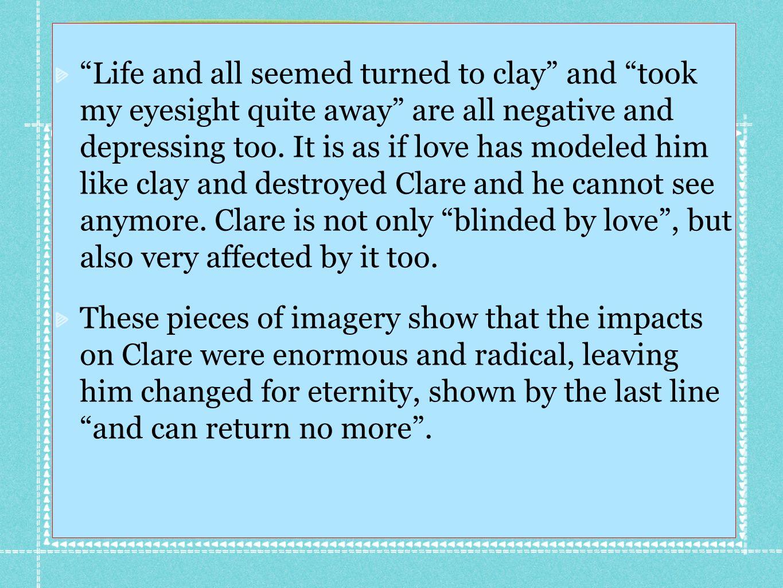 first love john clare