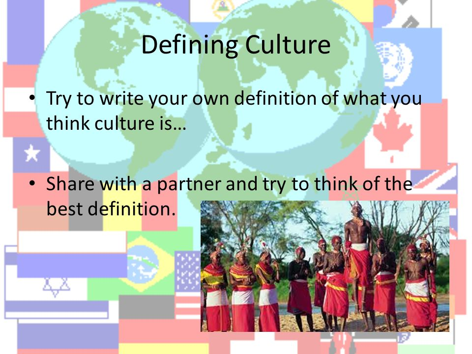 which best defines the term culture