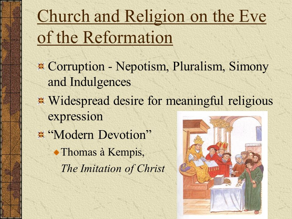 Chapter 13 Reformation And Religious Warfare In The Sixteenth