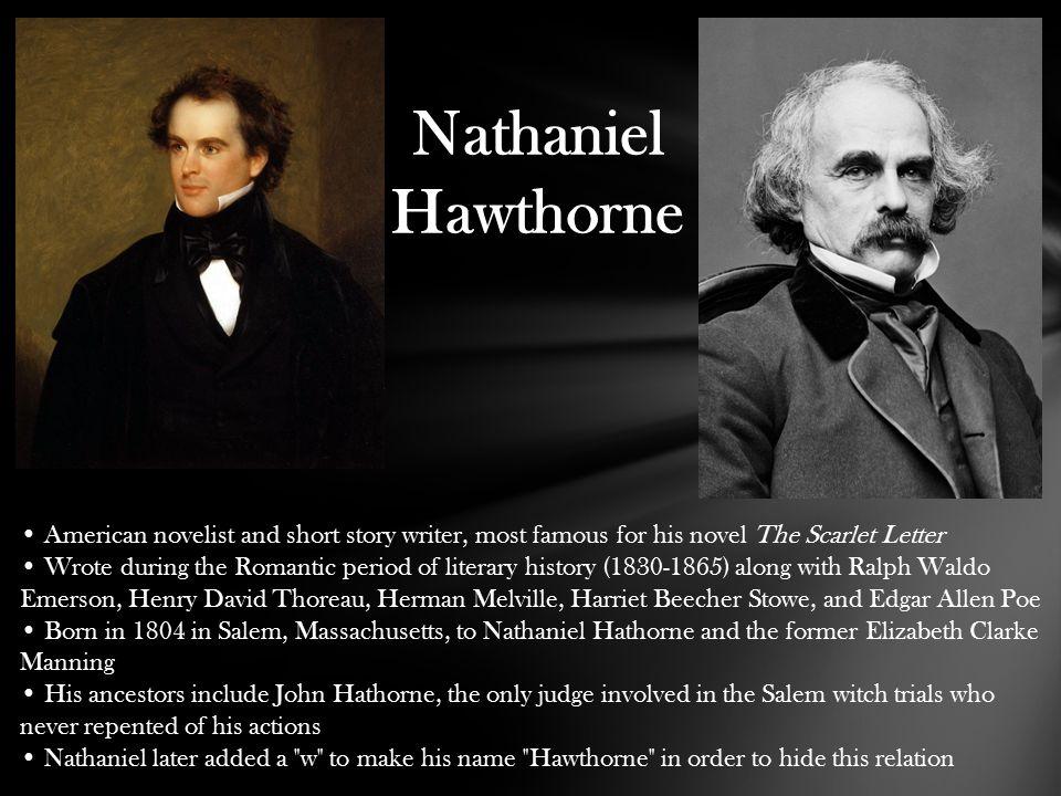 Scarlet Letter By Nathaniel Hawthorne Nathaniel Hawthorne