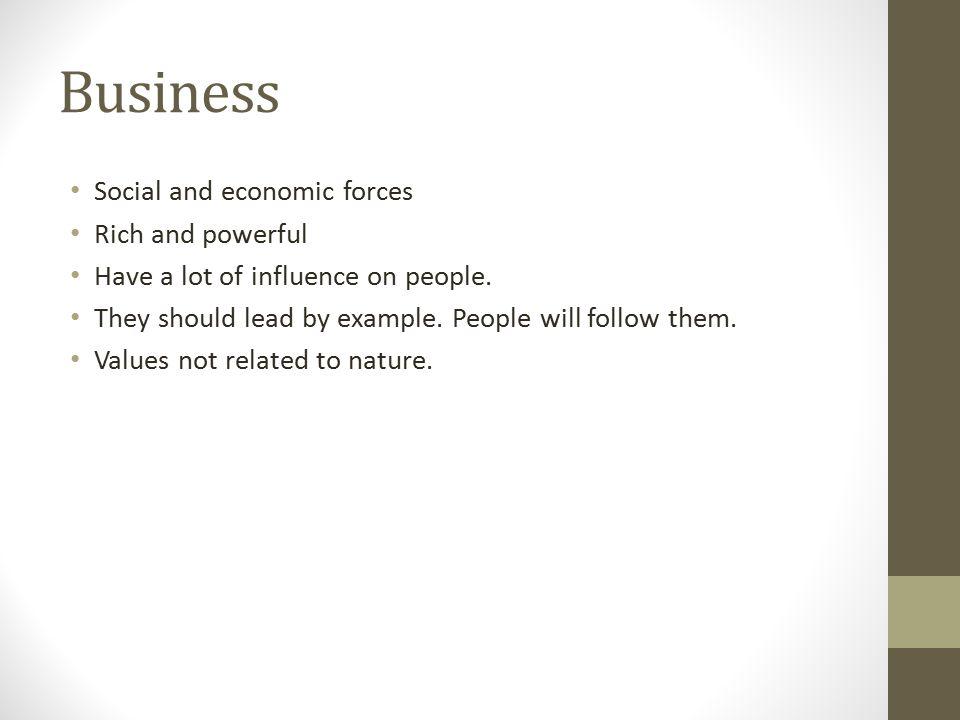 Business and nature Aurélie Leblanc-Florent  Introduction