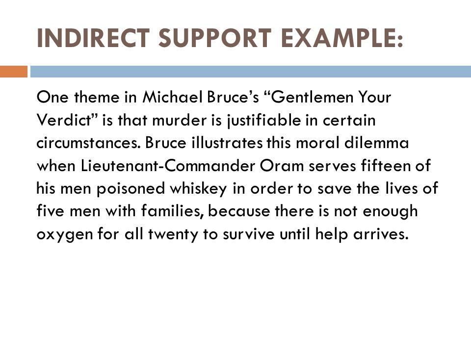 gentlemen your verdict summary