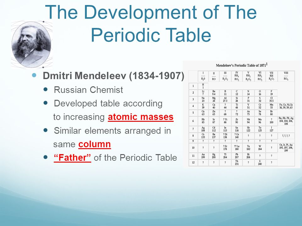 The periodic table textbook pages the development of the periodic 2 the development of the periodic table urtaz