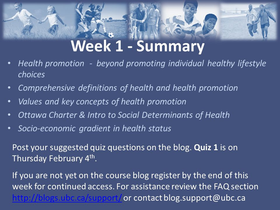 KIN 464 Health Promotion & Physical Activity Communities of Practice